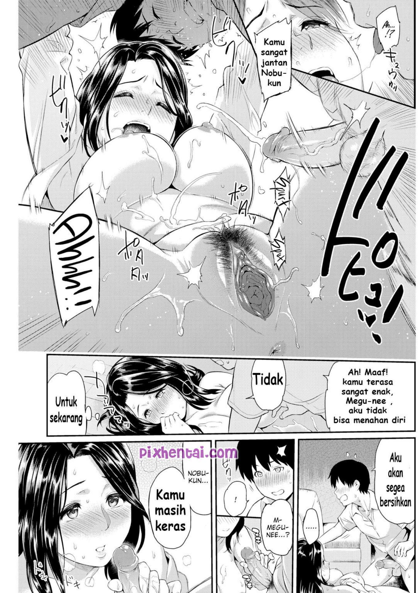 Komik Hentai Incest Sex dengan Mbak Montok Manga XXX Porn Doujin Sex Bokep 15