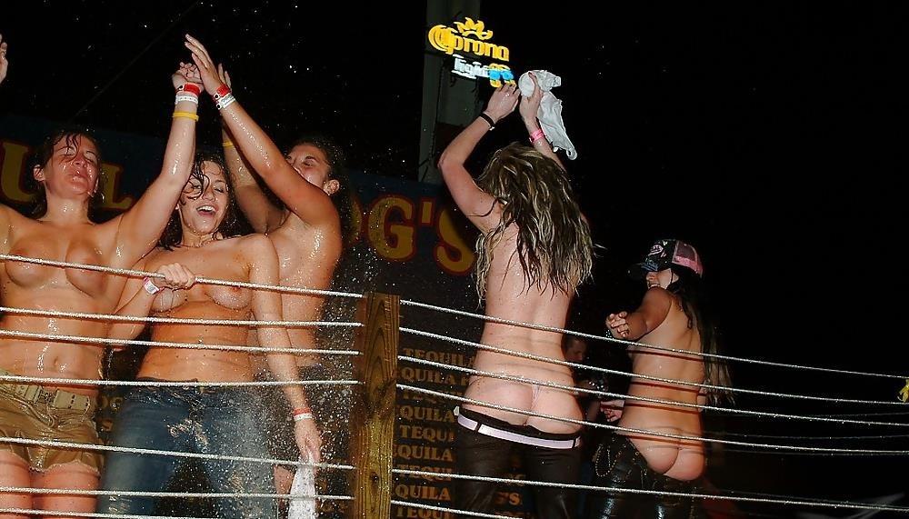 Nude spring break beach-6133