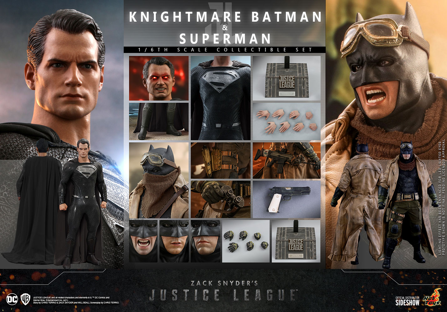 Justice League Hot Toys