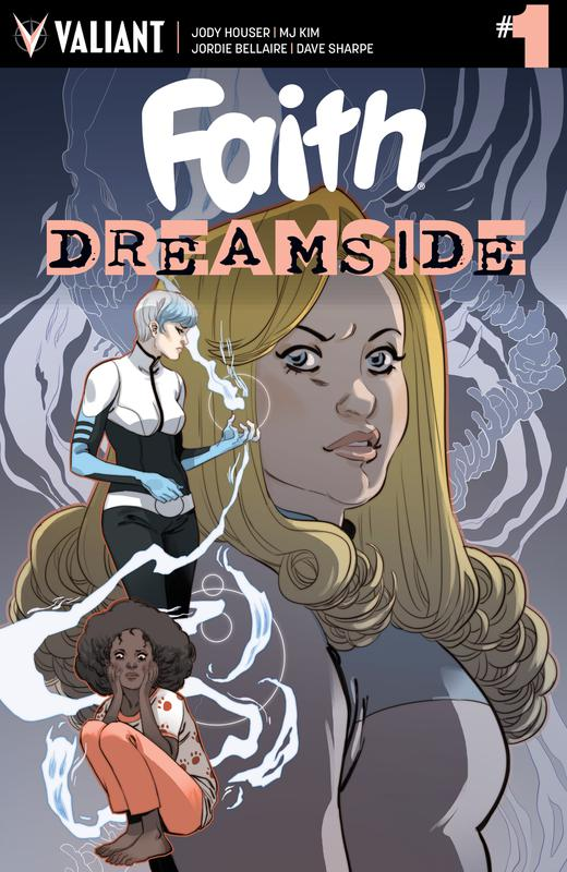Faith Dreamside #1-4 (2018-2019) Complete