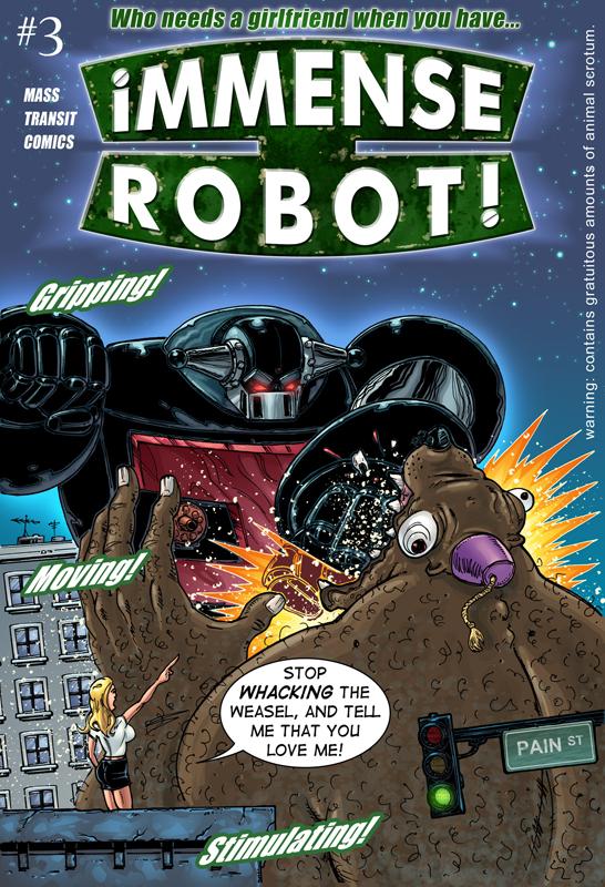 Immense Robot #1-4 (2014-2015) Complete