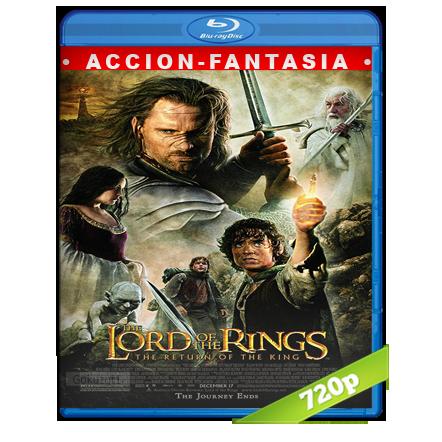 El Señor De Los Anillos 3 720p Lat-Cast-Ing 5.1 (2003)