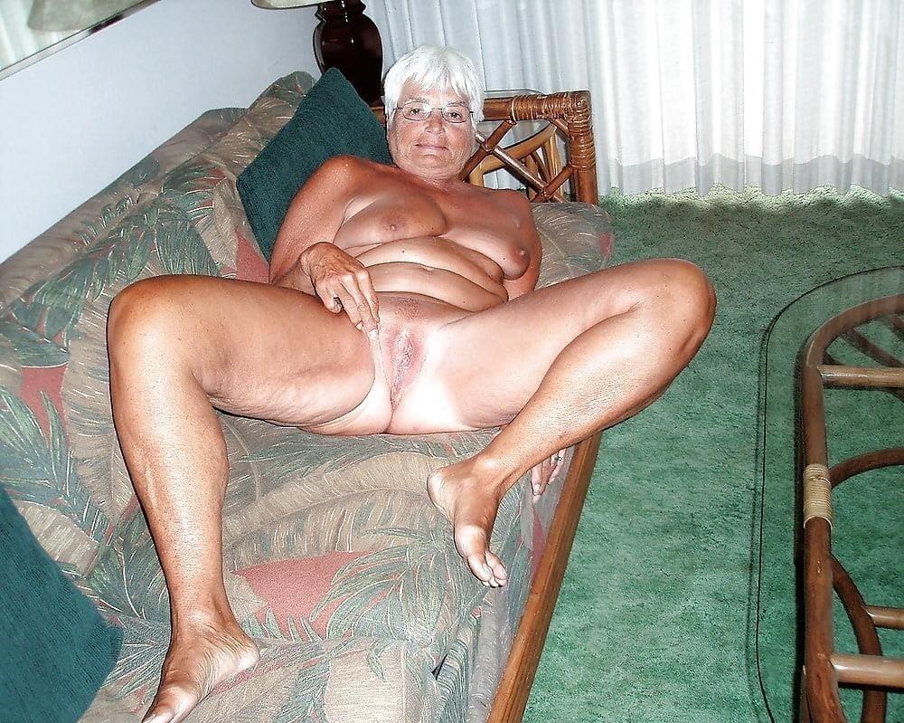 Chubby granny naked-1294
