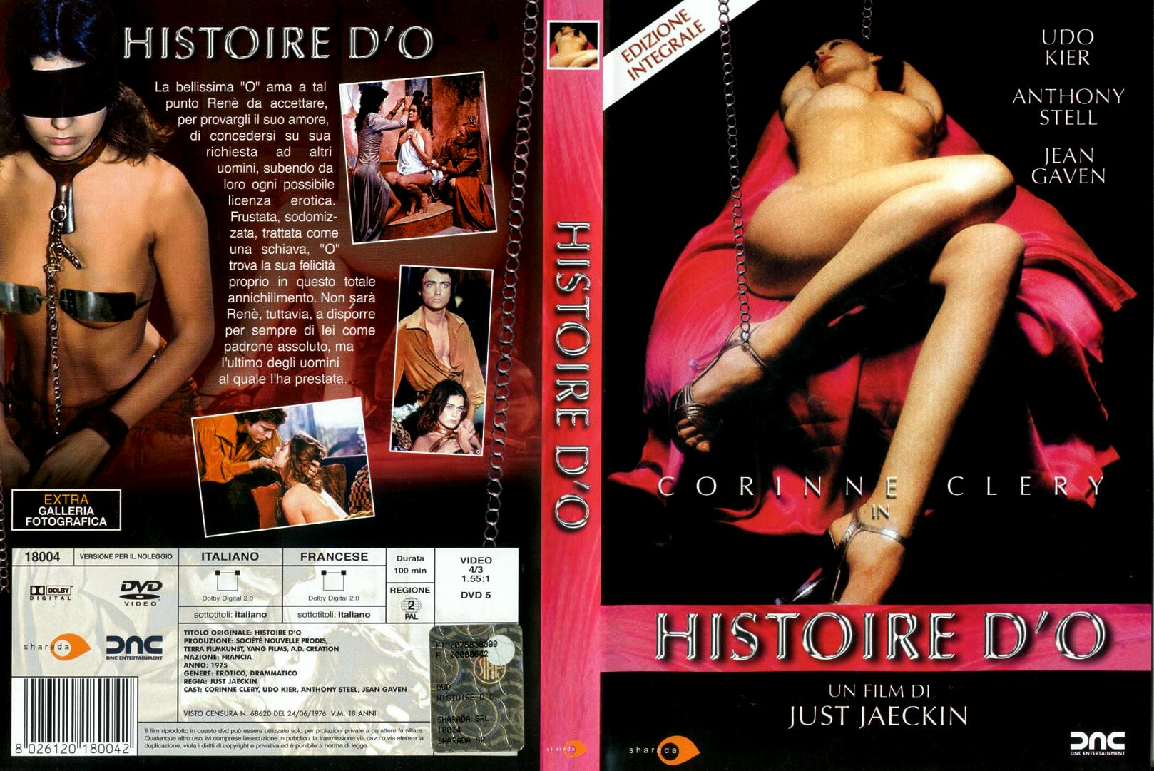 Histoire d O / The Story Of O / История  О  (Just Jaeckin, A.D. Creation, Somerville House, Terra-Filmkunst) [1975 г., Erotic, Drama, BDRip] [Rus][En][Fr] (Corinne Cléry, Udo Kier, Anthony Steel, Jean Gaven, Christiane Minazzoli,