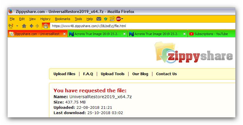 acronis 11.5 bootable usb download