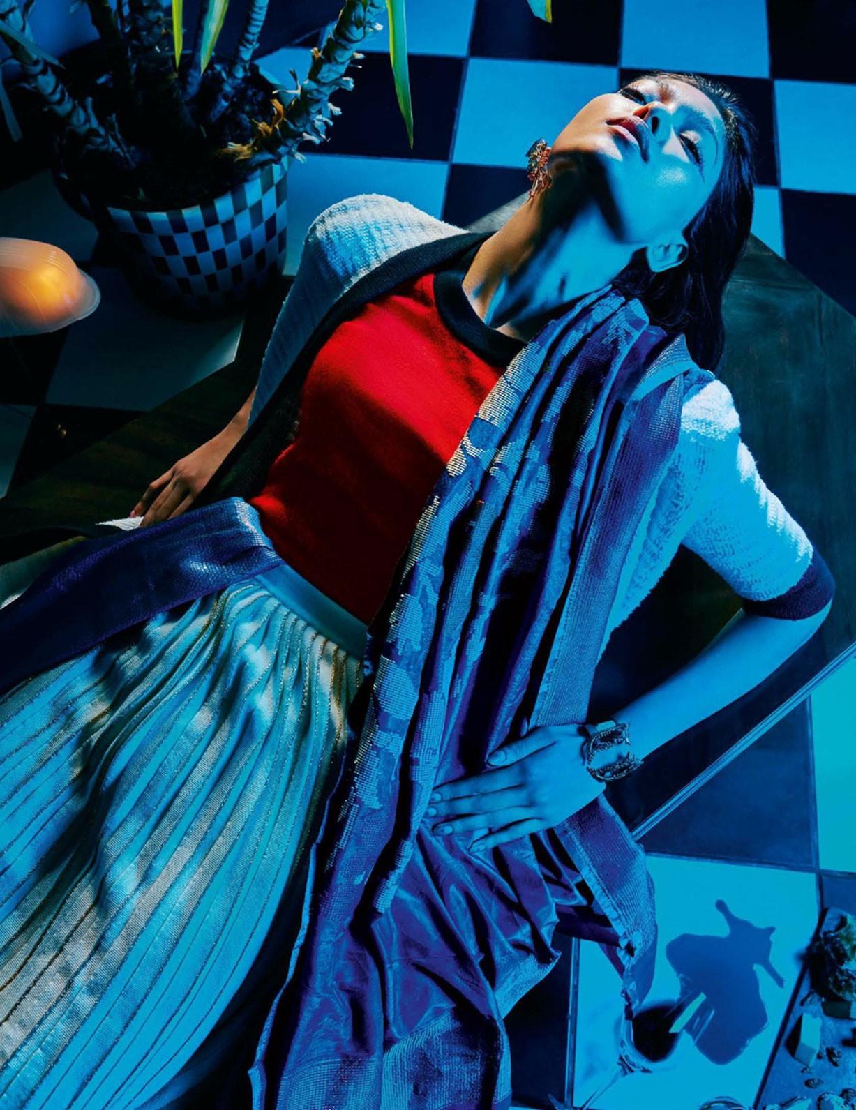 Pritika Swarup by Arjun Mark - Vogue India september 2017