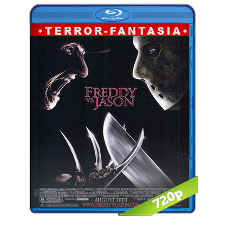 Freddy Contra Jason (2003) BRRip 720p Audio Trial Latino-Castellano-Ingles 5.1