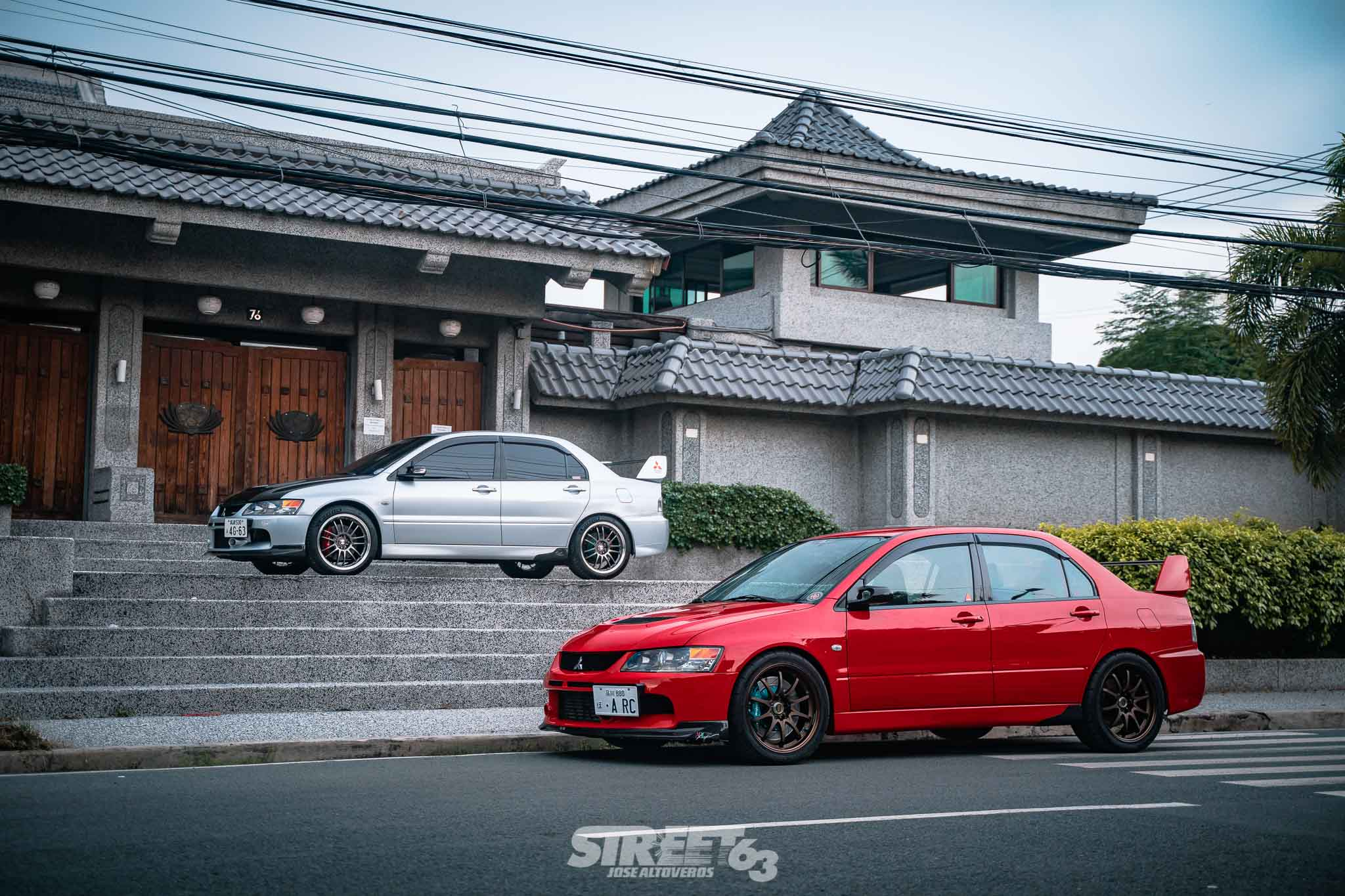 Diamond Star Generations: A Father and Son Evo Tandem