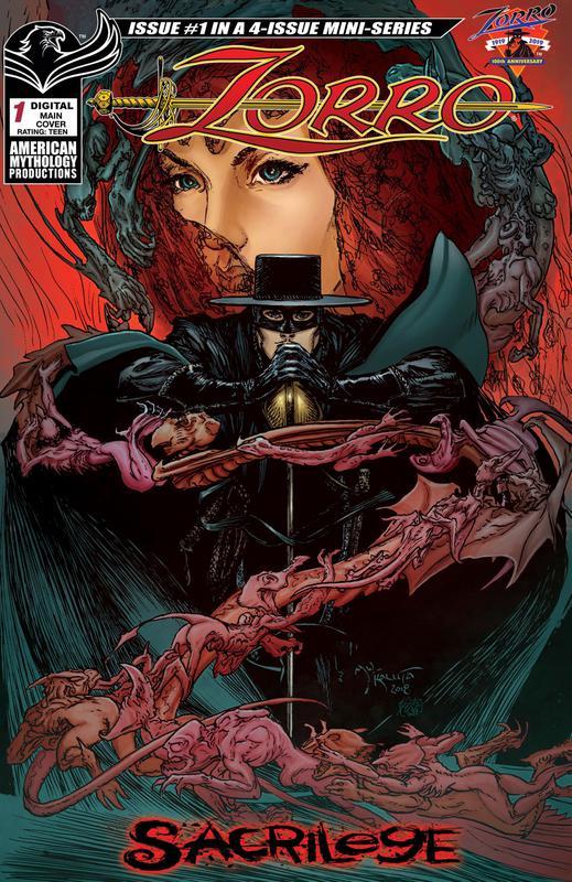 Zorro - Sacrilege #1-2 (2019)