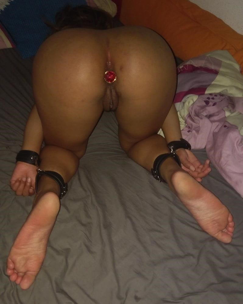 Amateur bondage anal-7119