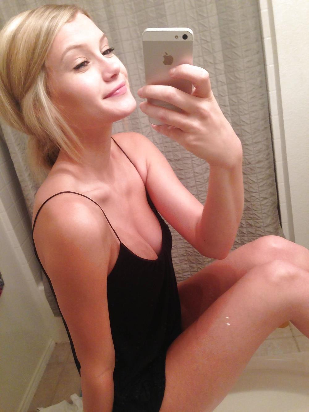 Busty teen nude selfie-4860