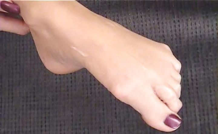 Janet mason nylon footjob-8079