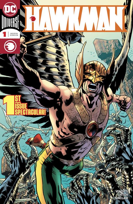 Hawkman v5 #1-5 (2018)