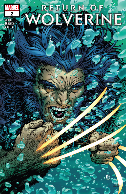 Return Of Wolverine #1-5 + Director's Cut Edition (2018-2019) Complete