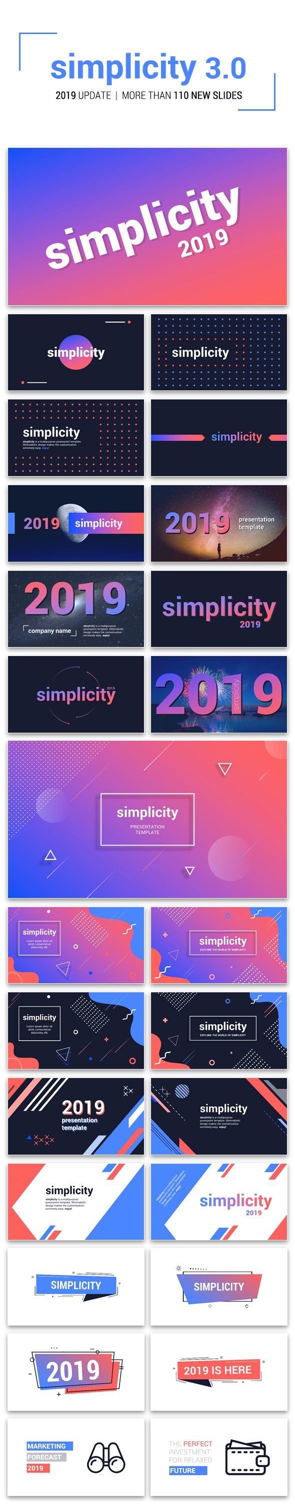 Simplicity 3.0 – Premium and Easy to Edit Template - 6