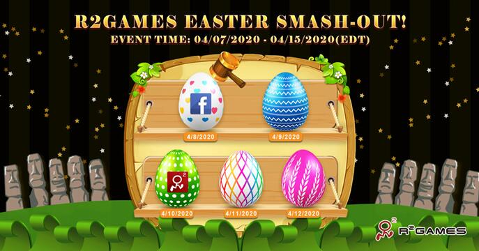 R2 Games Announces Easter-Exclusive Events and Rewards for 2020: Let the Egg Hunt Begin!