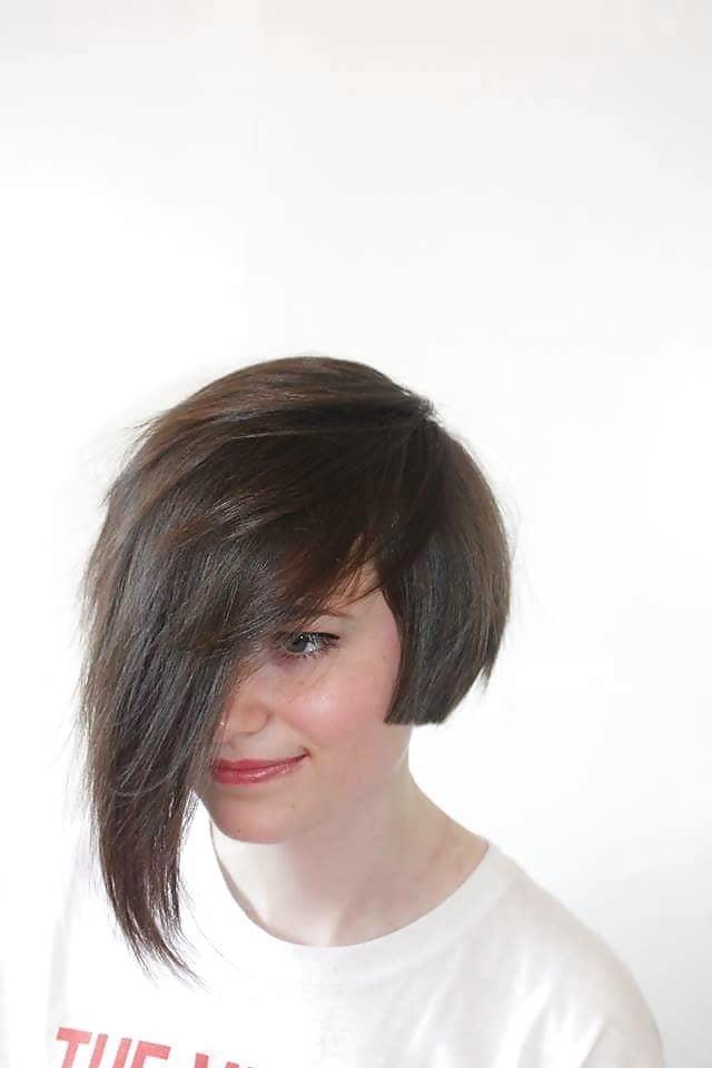 Short bob haircut black girl-5708