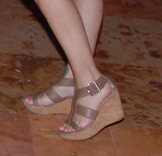 Long toes foot fetish-5558