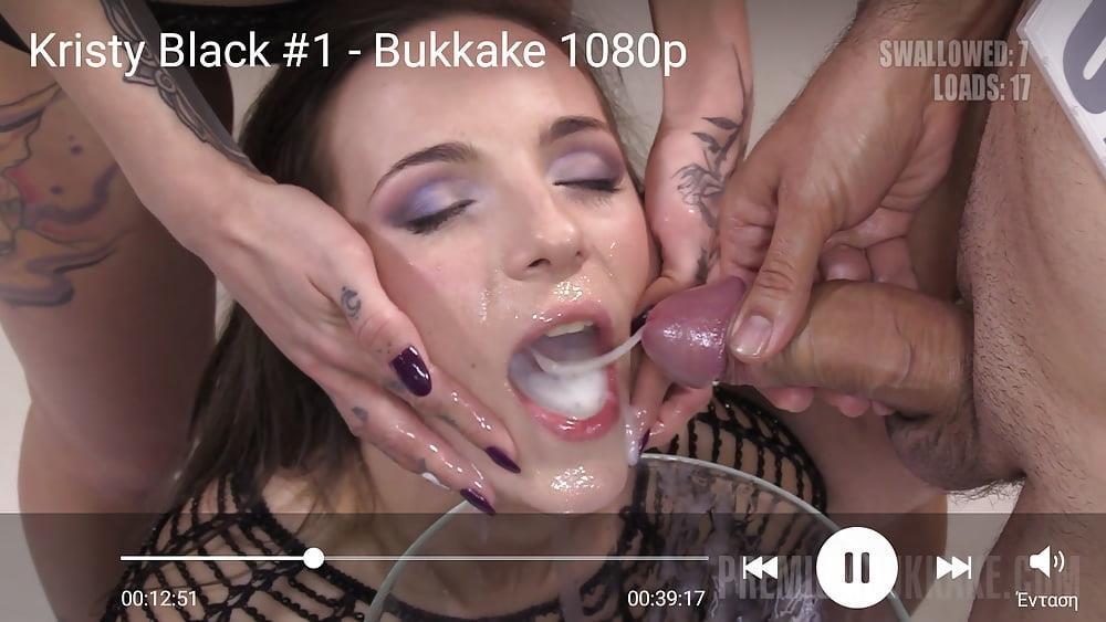 Black bukkake gay-8954
