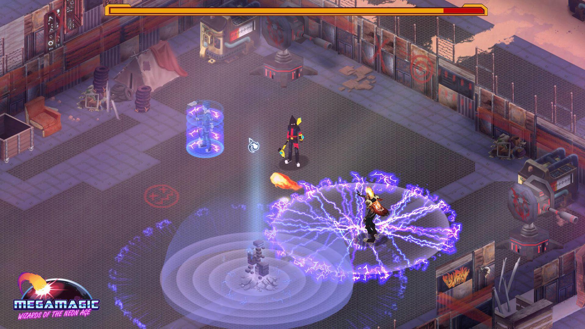 Megamagic: Wizards of the Neon Age Captura 3