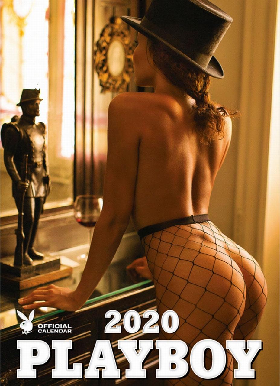 эротический календарь журнала Playboy США на 2020-й год / обложка