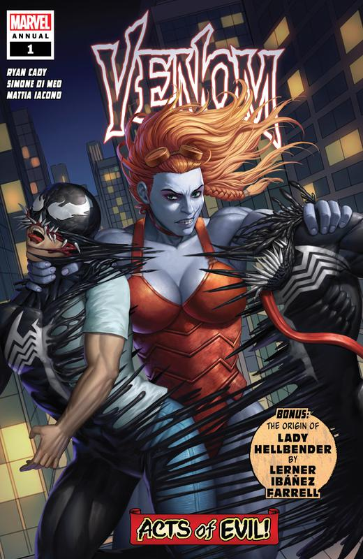 Venom Vol.4 #1-34 + Annuals (2018-2021)