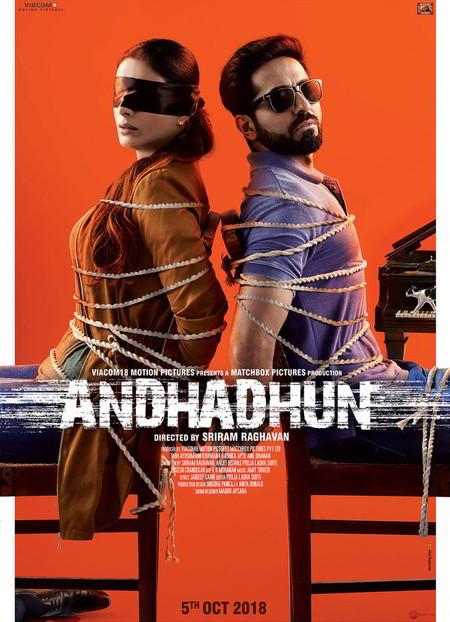 Andhadhun (2018) 1080p BluRay 10bit HEVC 6CH 2.2GB Mkvcage Movies
