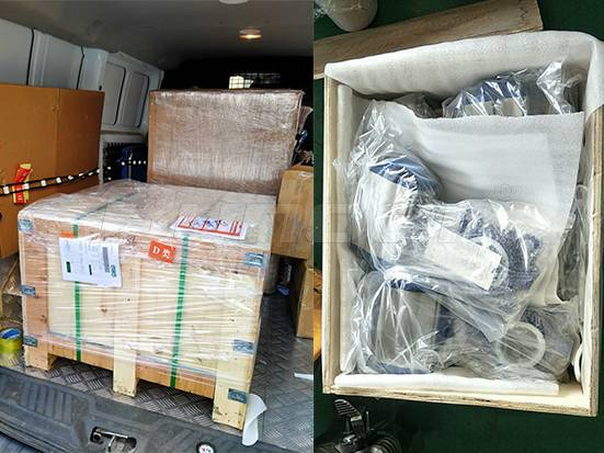 Bundor Pneumatic Butterfly Valve Exported to Indonesia