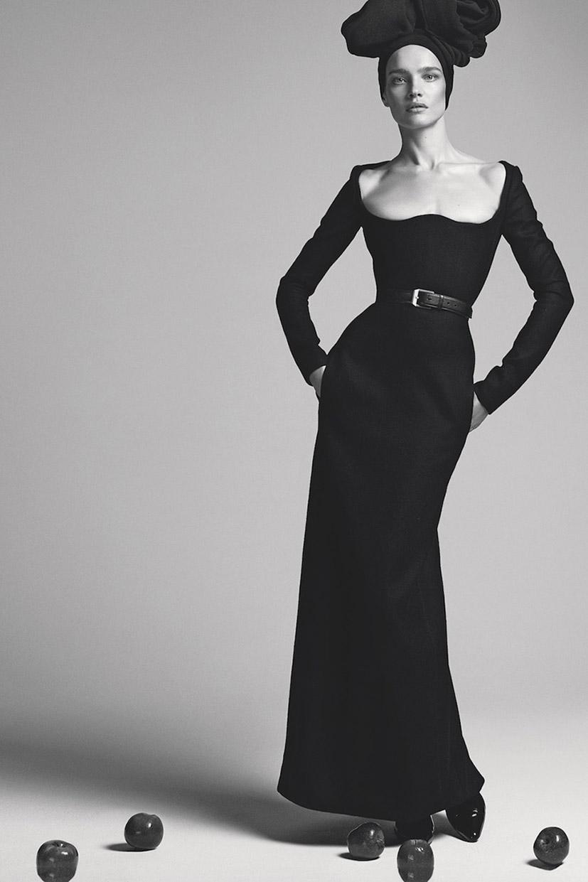 Natalia Vodianova by Cuneyt Akeroglu - S Moda El Pais september 2018