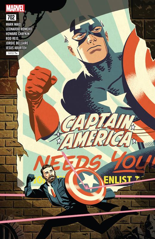 Captain America 695-704 (2018)
