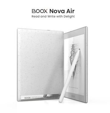 Onyx BOOX Release Ultra-light 7.8inch E Ink Tablet Nova Air