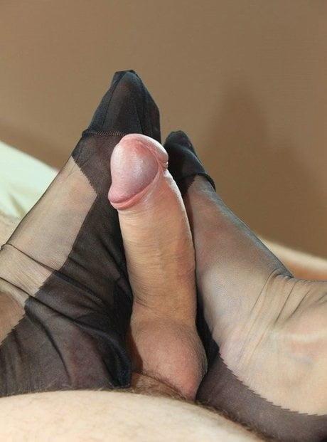 Nylon feet porn-5211