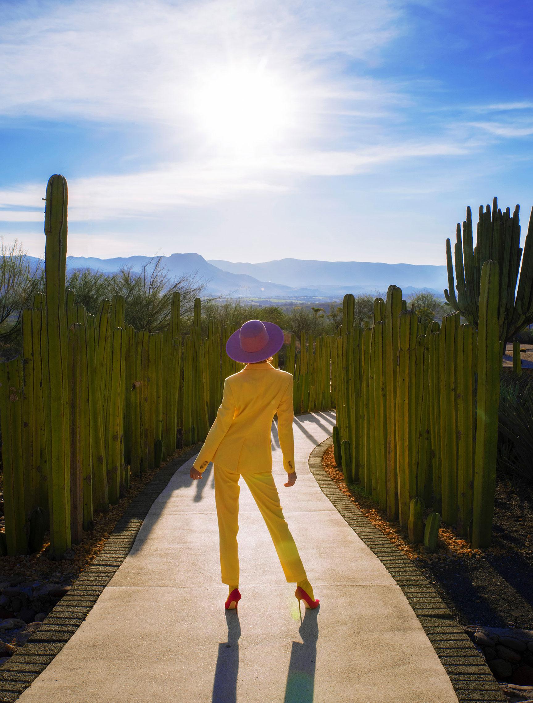 Три грации в рекламной кампании модной одежды Edher Gin, сезон весна-лето 2020 / фото 14