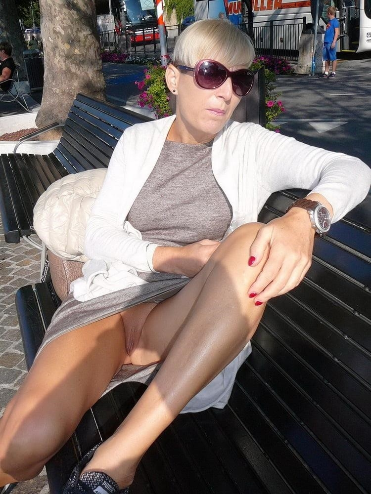 Wife naked in public-2638