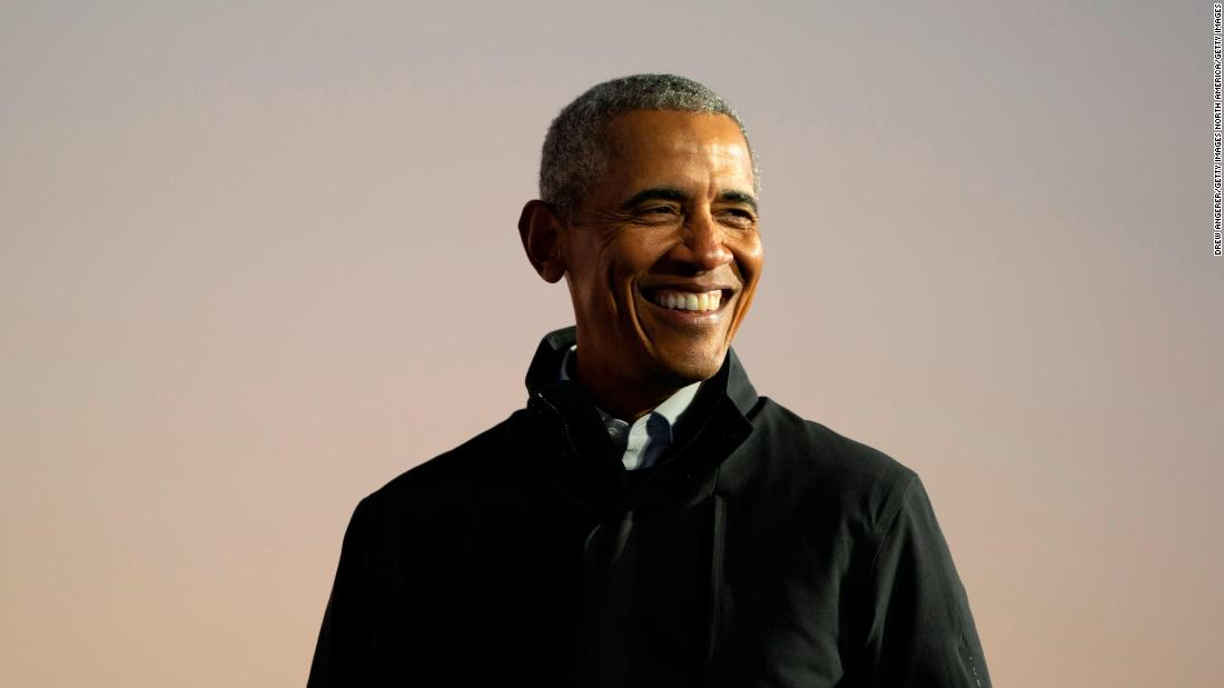 Former President Barack Obama said he