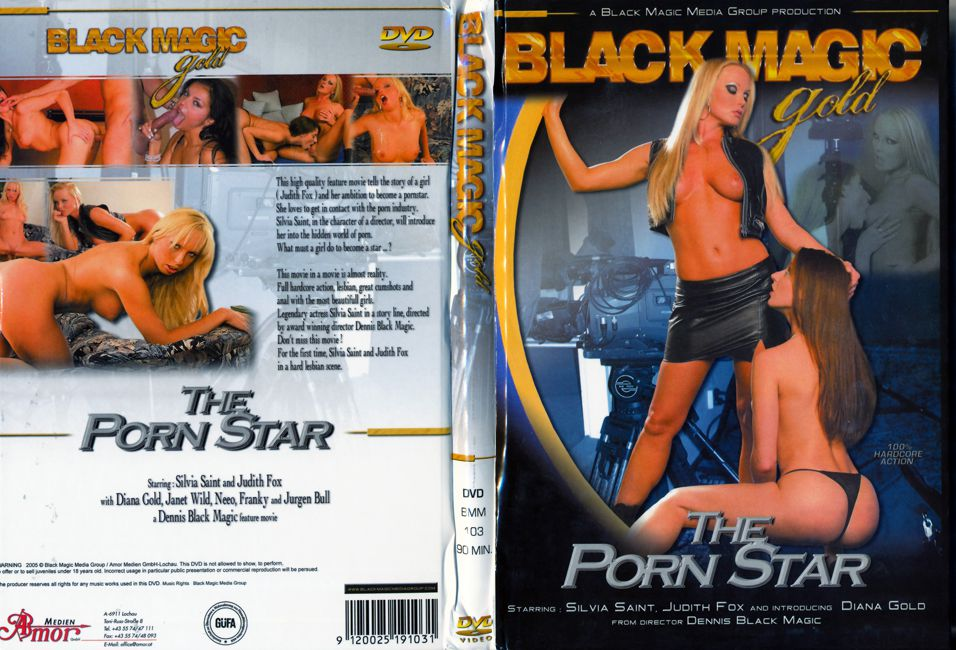 The Porn Star / Porn Star / Порнозвезда (Dennis Black Magic, Black Magic Pictures) [2005 г., Feature, Euro Girls, All Sex, Anal, Facial, DVDRip] (Silvia Saint, Diana Gold, Judith Fox, Cory Everson (as Janet Wild), Neeo, Frenky (as Franky), Vito Corle ]