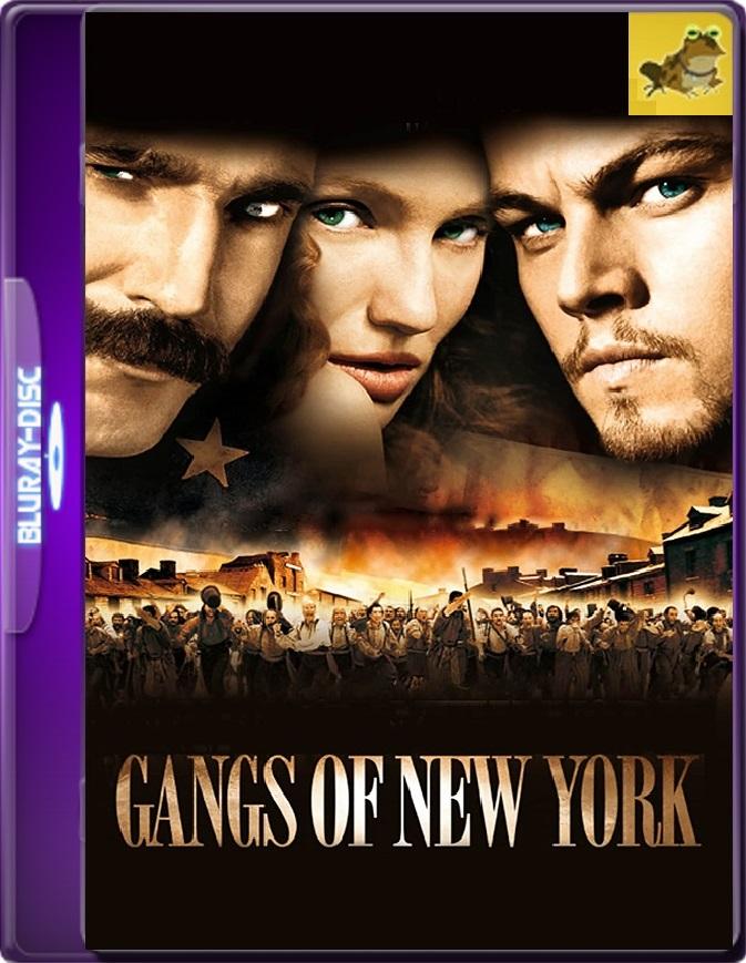 Pandillas De Nueva York (2002) Brrip 1080p (60 FPS) Latino / Inglés