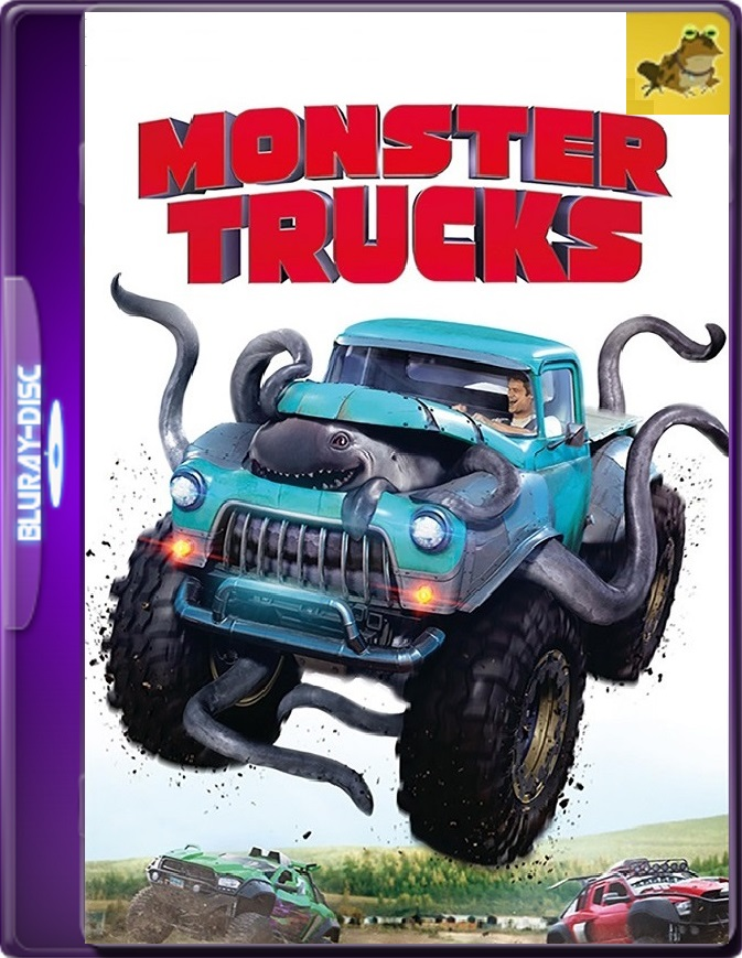 Monster Trucks (2017) Brrip 1080p (60 FPS) Latino / Inglés