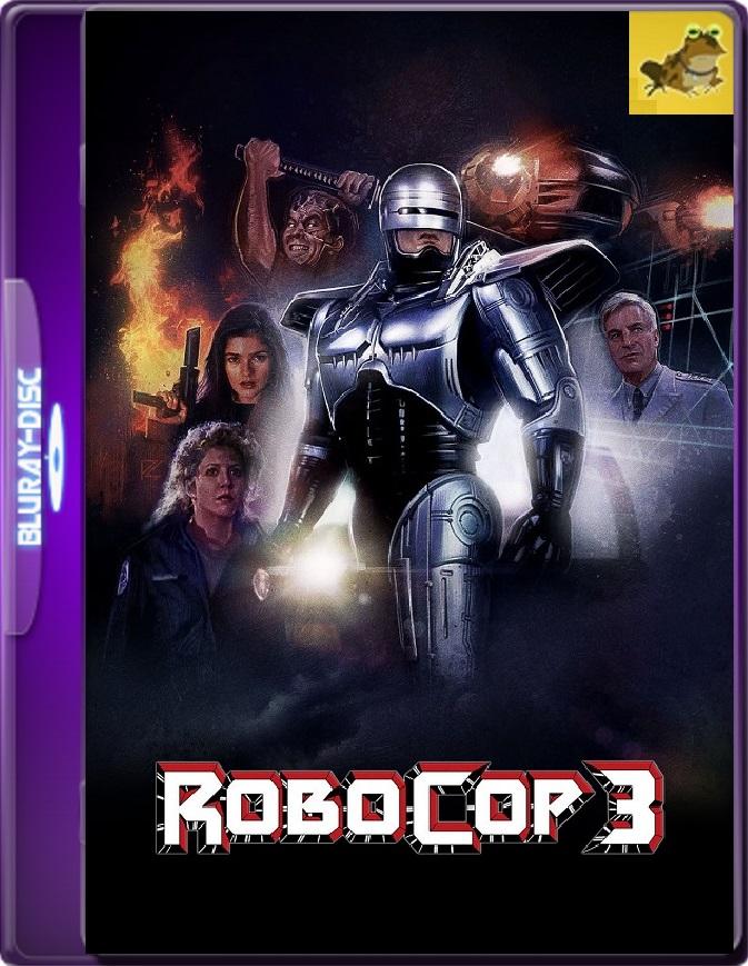 Robocop 3 (1993) Brrip 1080p (60 FPS) Latino / Inglés