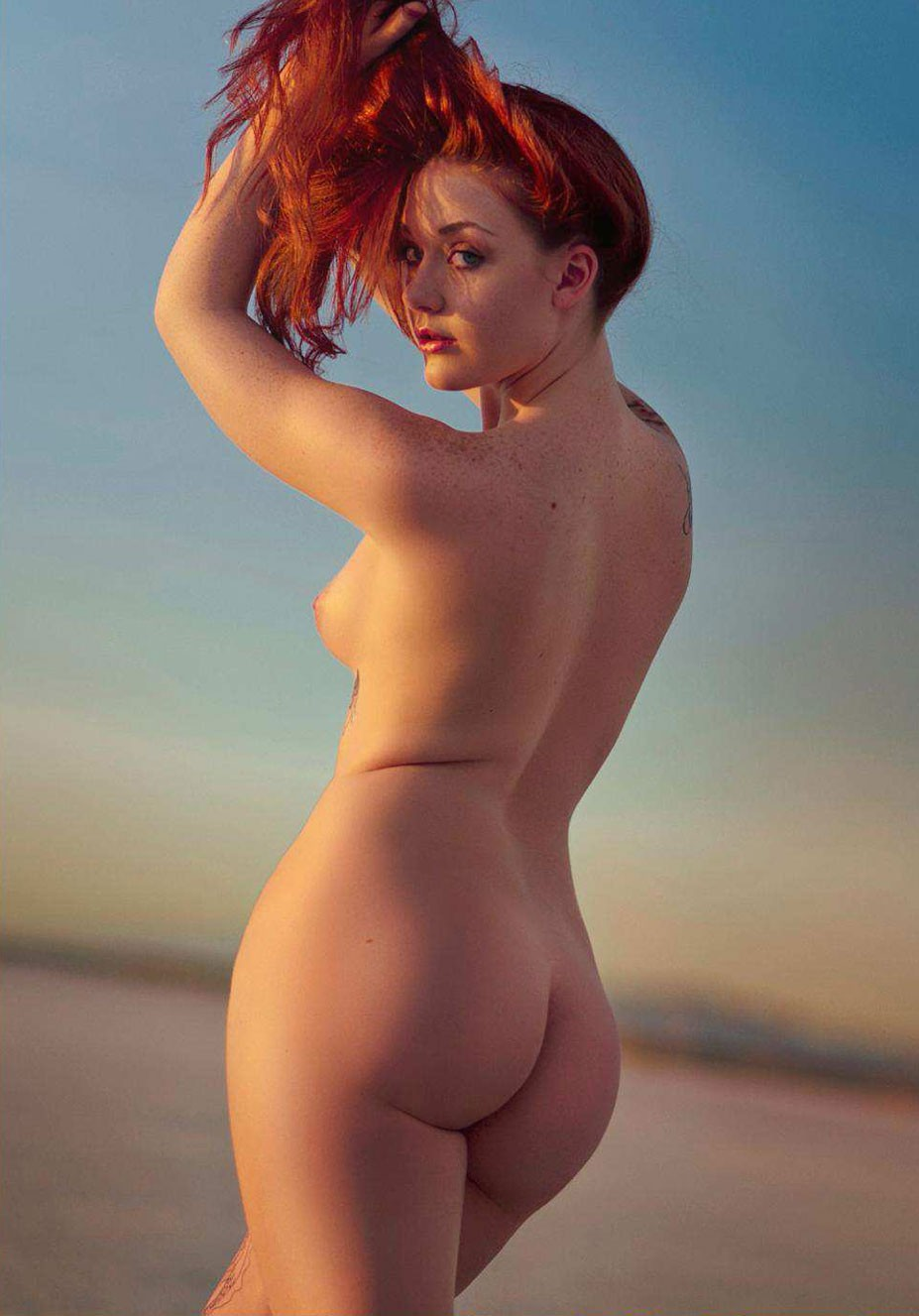 Mychala Sandberg nude by Jason Kamerath - Volo Magazine september 2016