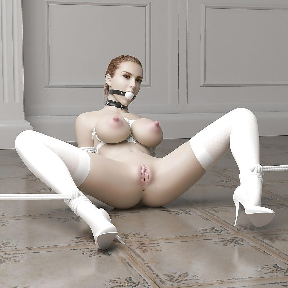 3d bondage girls-6803
