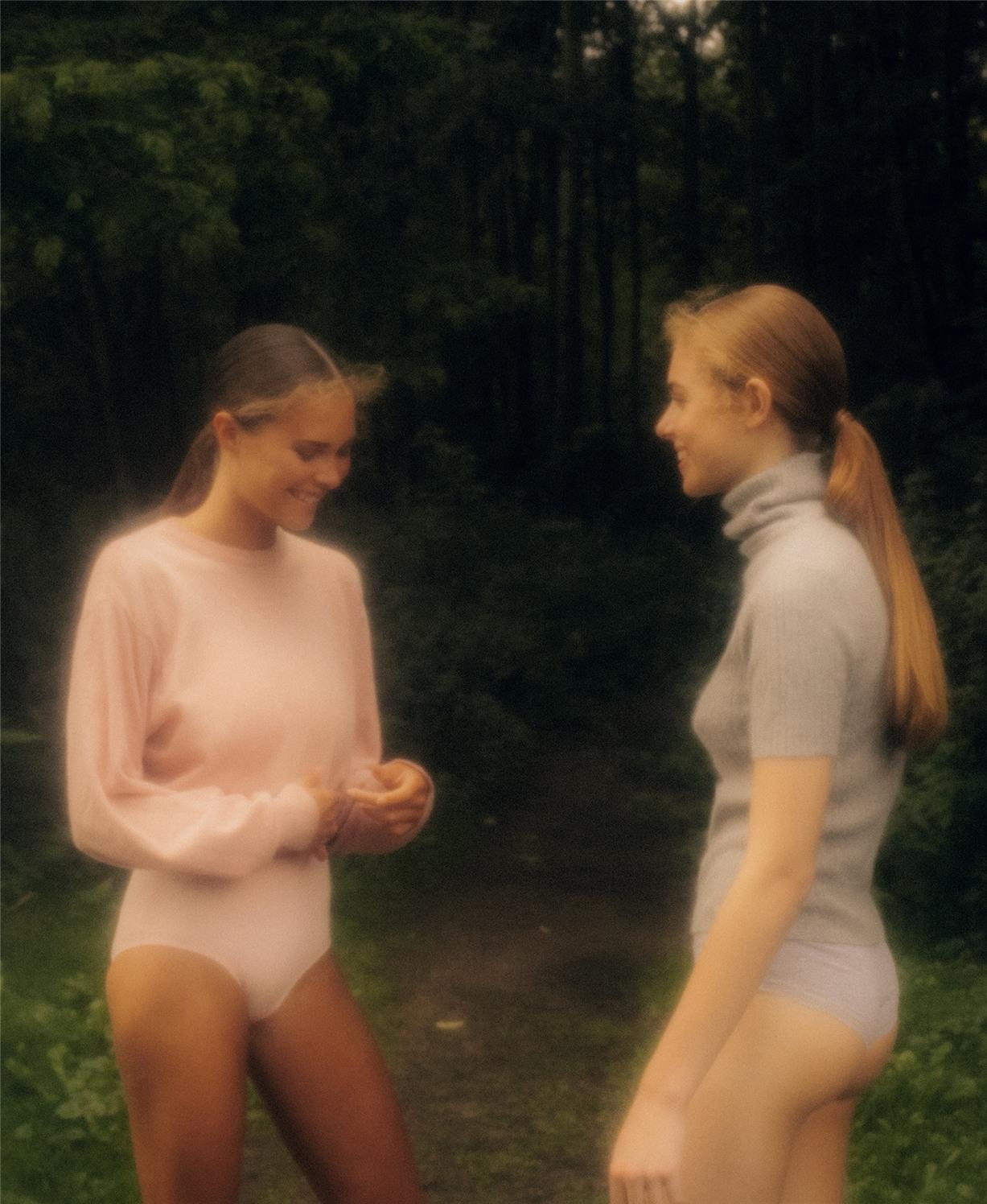 Estee Heinsbroek and Ellemijn Geerkens by Sven Kristian