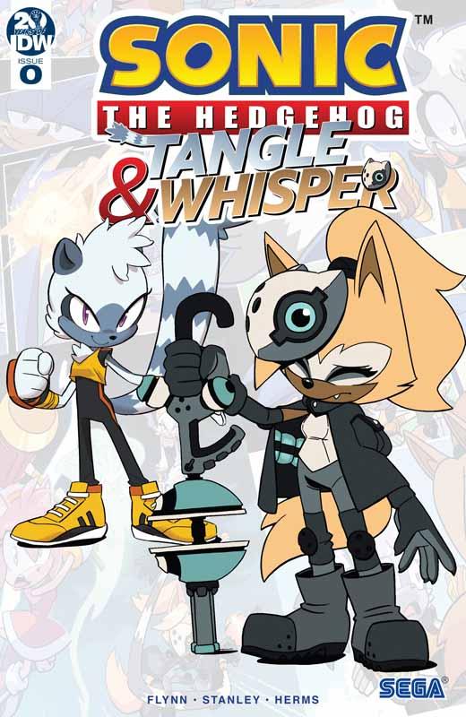 Sonic - Tangle & Whisper 000 (2019)
