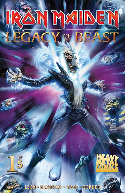Iron Maiden Legacy of the Beast #1-5 (2017-2018) Complete