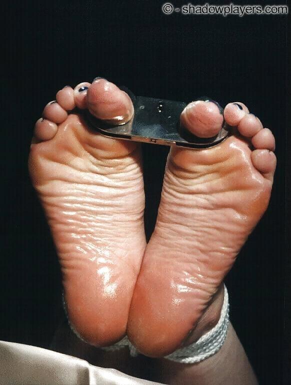 Bondage tickle feet-6189