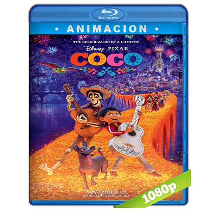 Coco Full HD1080p Audio Dual Latino-Ingles 5.1 (2017)