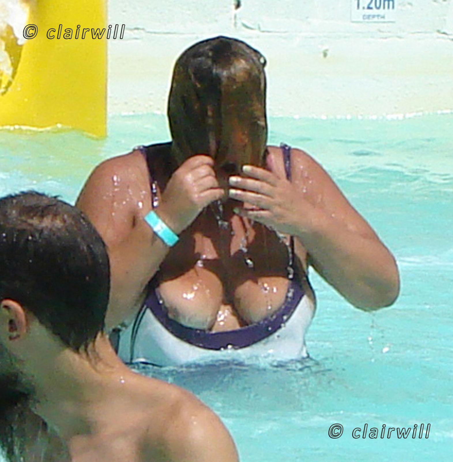 Masha Favorites Cute Solo Girl In A Bikini Flashes Her Tits