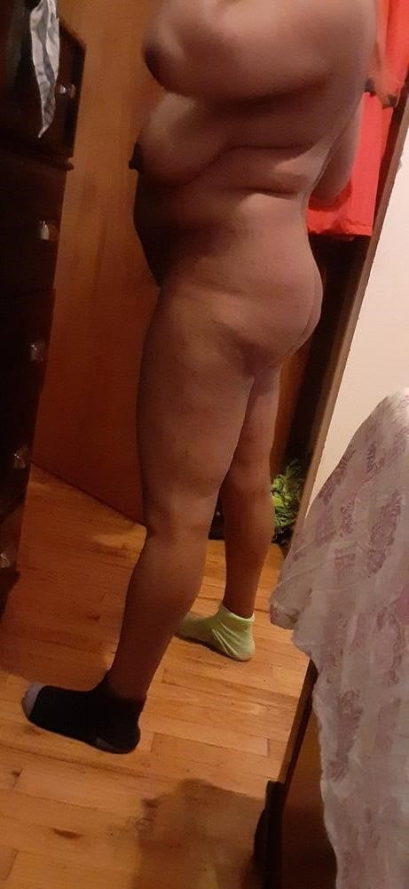 Fat black booty naked-6547