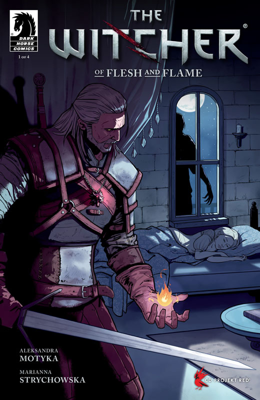 Witcher - Of Flesh and Flame 01 (of 04) (2018)
