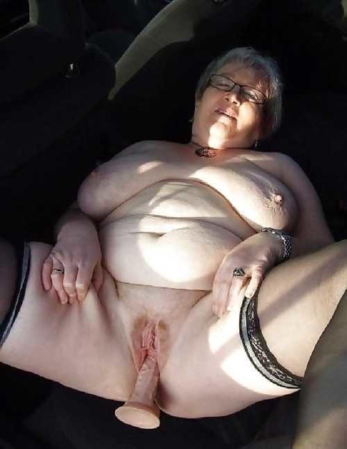 Chubby granny boobs-7874